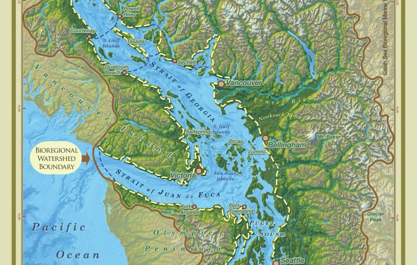 Salish Sea Bioregional Gathering - map