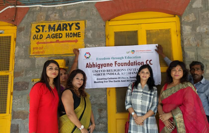 Abhigyane Foundation Old Age Home Visit