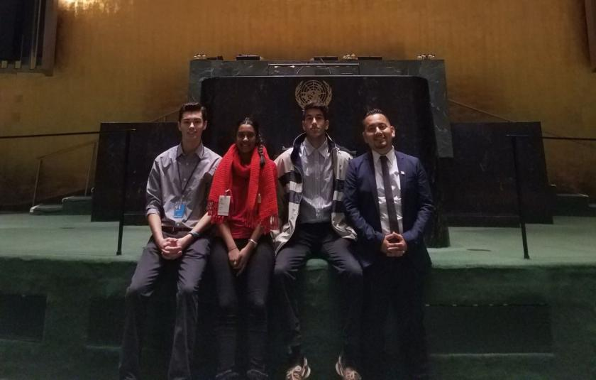 URI Youth at the UN 2018