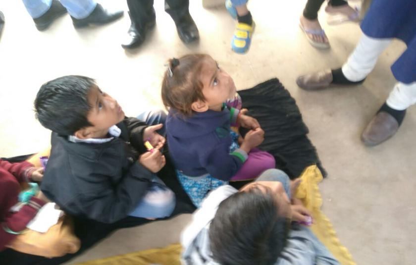 Slideshow: Kathak Dharohar Visits Orphans' Shelter