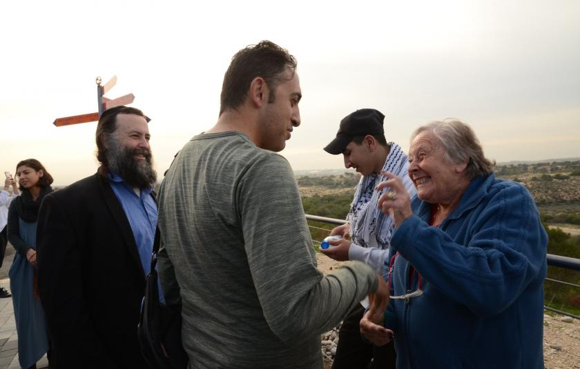 Abrahamic Reunion CC celebrates WIHW 2018 on the Israeli border