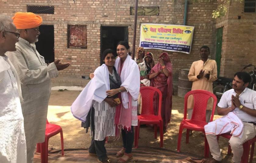 Slideshow: Free Eye Check-up and Gender Sensitization Programs in URI North India