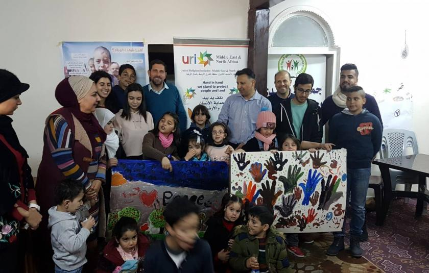 URI Jordan, Seeds of Peace, and Desert Bloom celebrate World Interfaith Harmony Week 2019