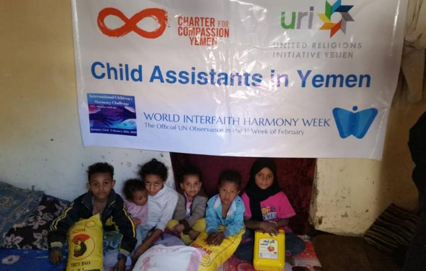 Charter for Compassion Yemen celebrates WIHW2019