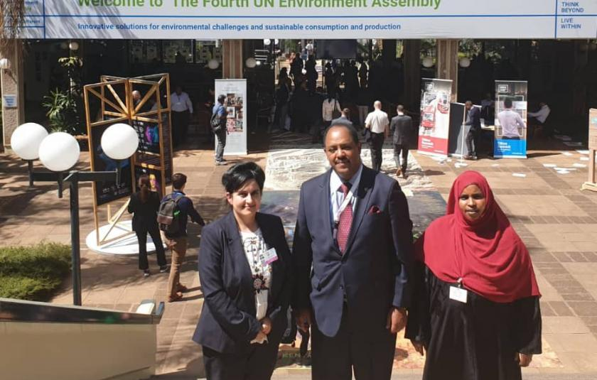 URI's Impactful Presence at the Fourth UN Environment Assembly in Nairobi
