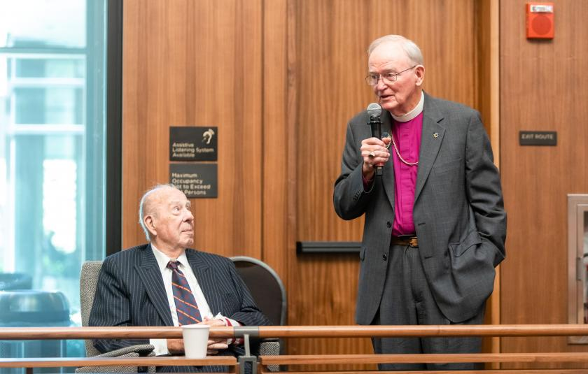 Session 2 - Hon. George P. Shultz and Bishop Swing