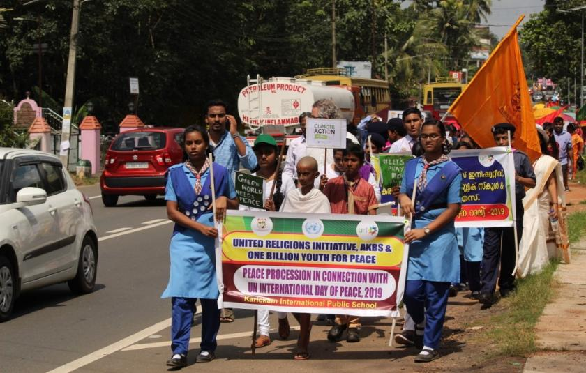 Zero Limits and Karickam International Public School celebrate Peace Day 2019