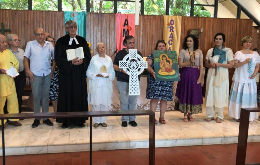 URI Founder Bishop William E. Swing Visits Brazil