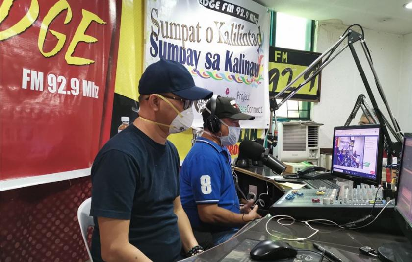 Radio Broadcast Provides Comfort During Pandemic in the Philippines