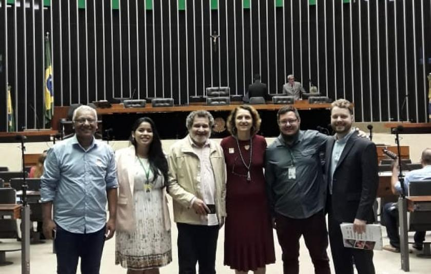 URI Honored '25 Years of the Human Rights and Minorities Commission of the Chamber of Deputies' in Brasilia
