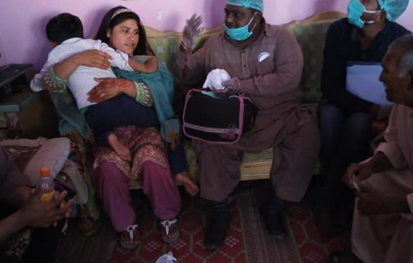 STAR Organization Helps Needy Families on Lockdown in Pakistan