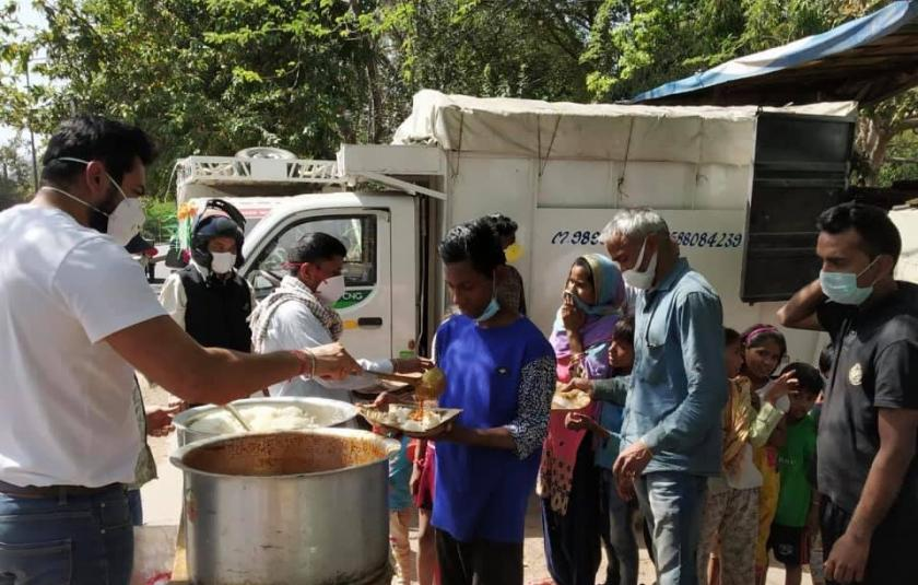 Love Care Foundation Distributes Food to Over 1,000 Families in North India