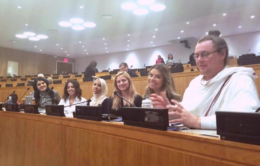 The Weekly Shot: URI Youth Visit the UN