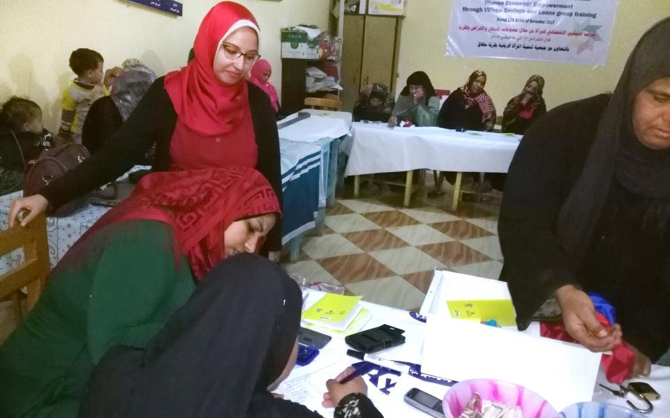 Workshop Helps Rural Egyptian Women Achieve Financial Independence