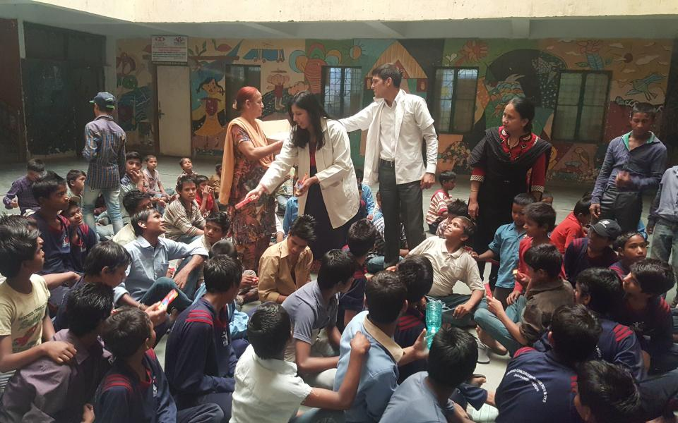 Drishti Foundation Trust CC donates oral care services for World Laughter Day