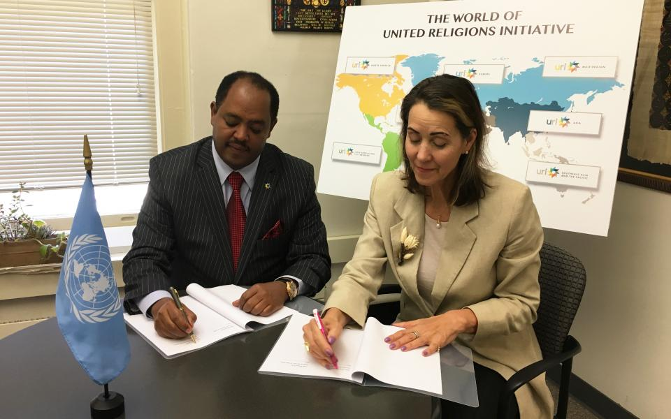 MOU signing between URI and WPPS