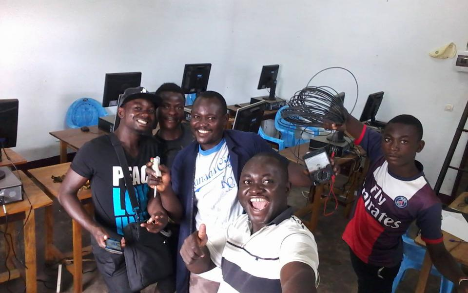 Global Compassion Cameroon Computer Lab