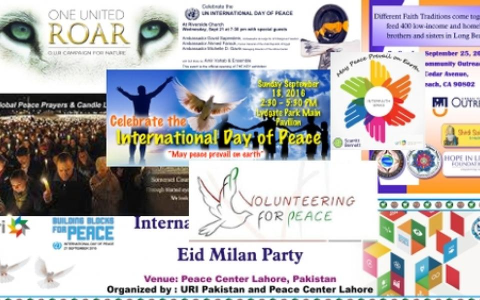 Uri And The Uns International Day Of Peace 2016 Uri