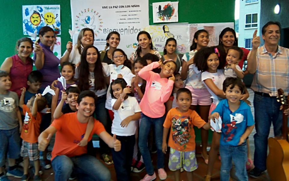 Promoting the Essential Values of Peace with Children - International Day of Peace of the Latin American CC of Musicians