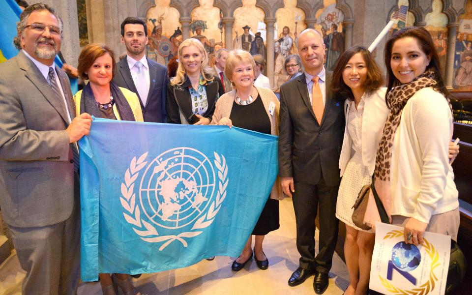 Joint anniversary celebrations for URI and the UN