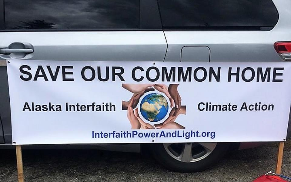 Save Our Common Home banner Interfaith Power and Light