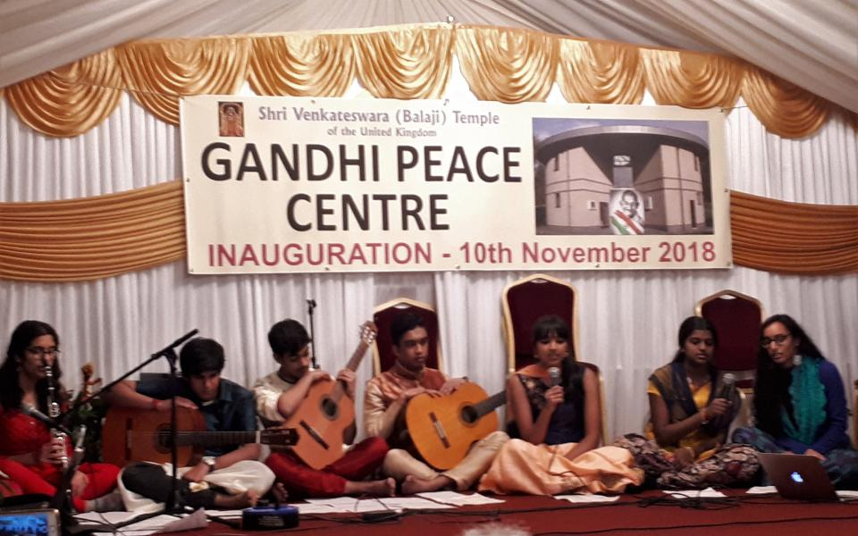 Inauguration of the Gandhi Peace Centre