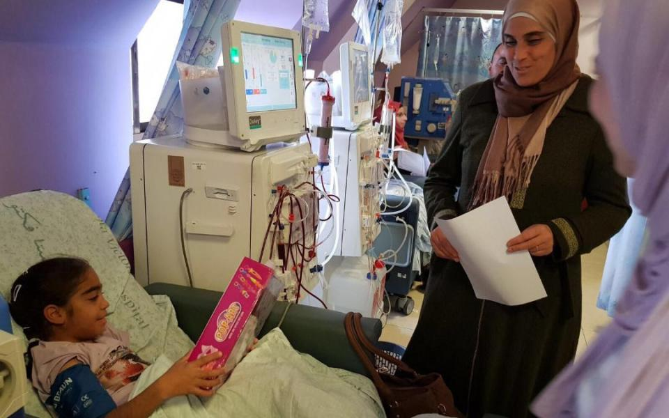 Hope for Palestinian Kids CC Celebrating Christmas 2017 with Sick Children.jpg