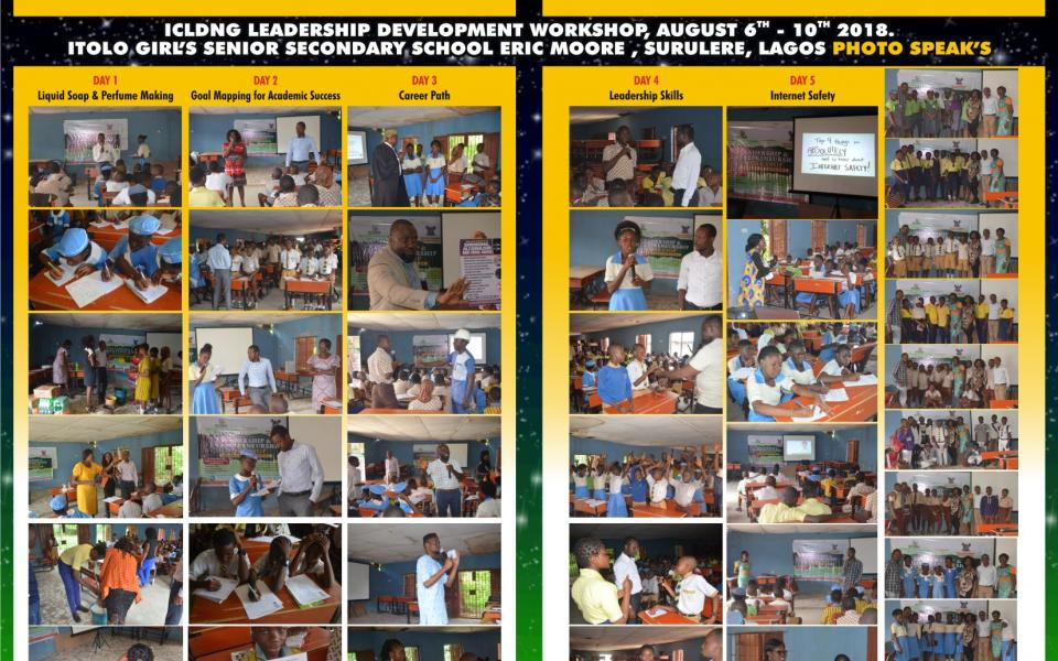 Providing Leadership Training for Students in Lagos, Nigeria