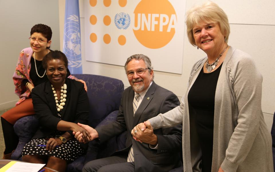 URI and United Nations Population Fund Sign a Memorandum of Understanding