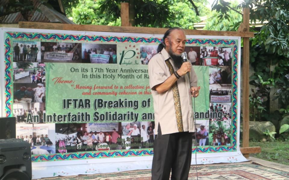 Fr. Chito Suganob Speaks Out About His Hostage Experience - speaker