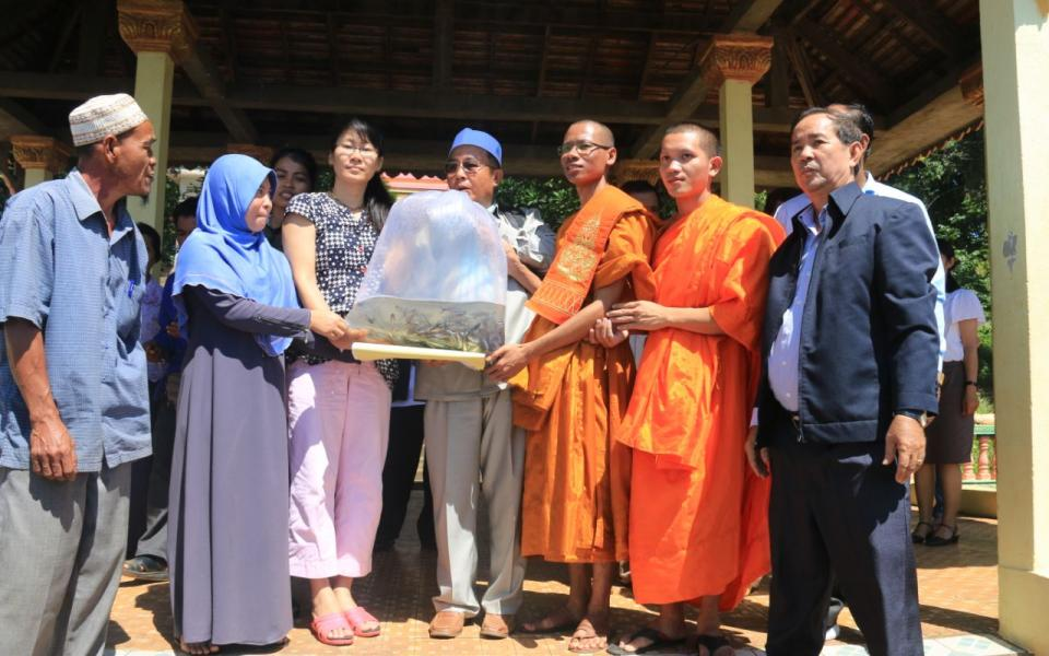 Celebrating National Fish Day in Cambodia as an Interfaith Group