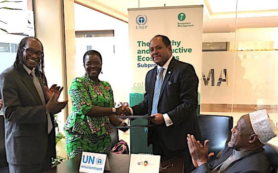 URI-Africa and United Nations Environment Programme Sign Memorandum of Understanding