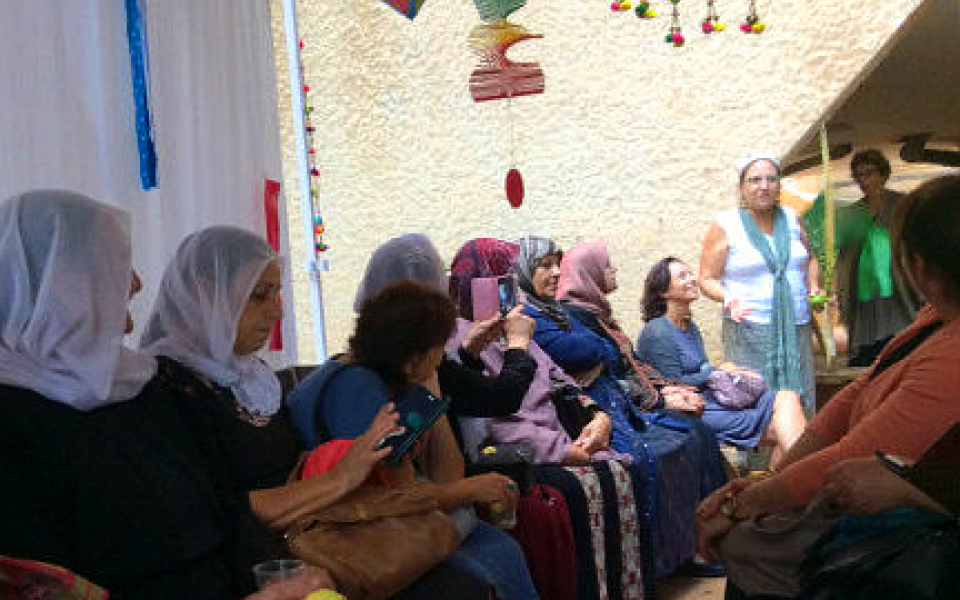 Photo of women sitting together
