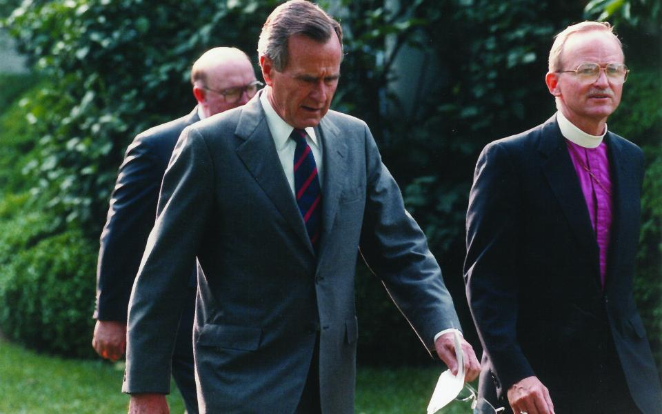 Bishop William Swing Remembers George H. W. Bush
