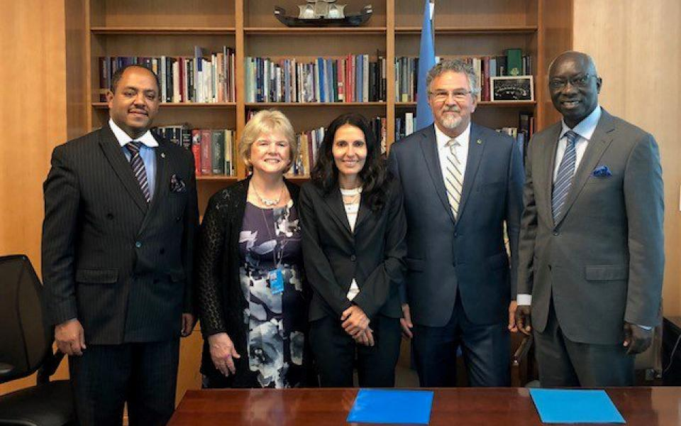 URI and the United Nations Office on Genocide Prevention Sign Partnership Agreement