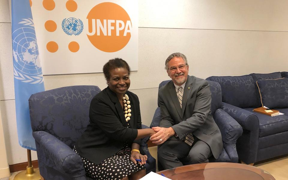 The Weekly Shot: URI and United Nations Population Fund Sign MOU