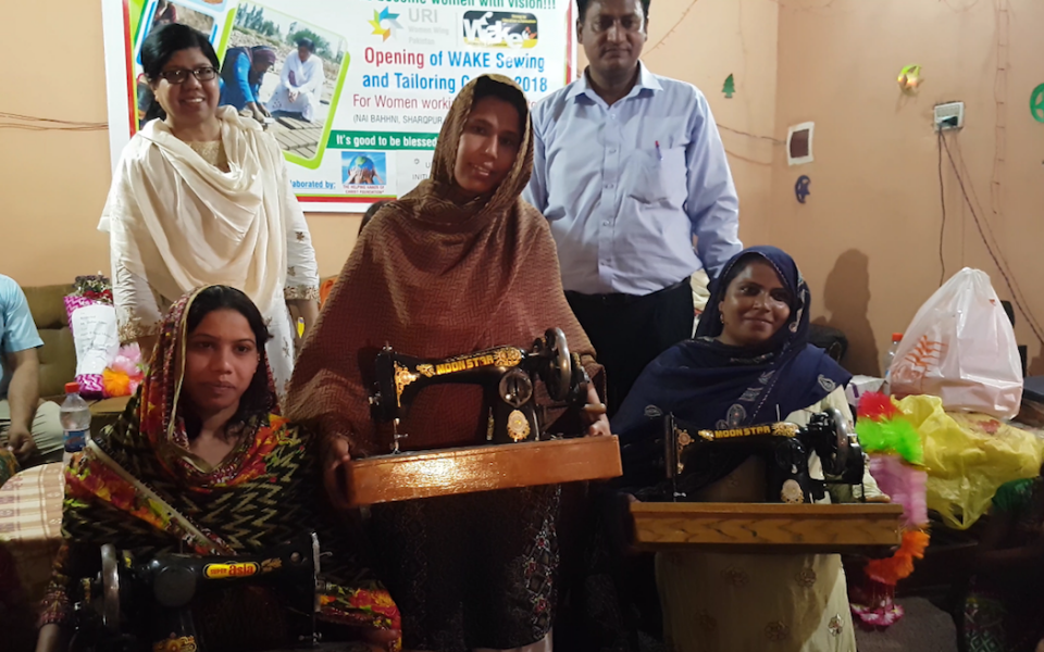 URI Pakistan Gifts a Sewing Center to Change Pakistani Mothers' Lives