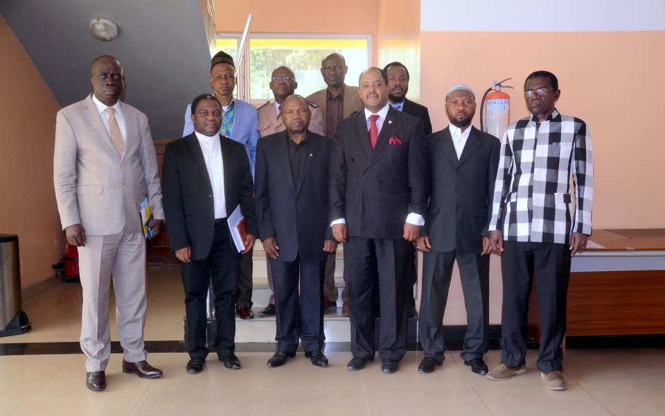 URI-Director for Africa Meets with All Congo InterFaith Platform