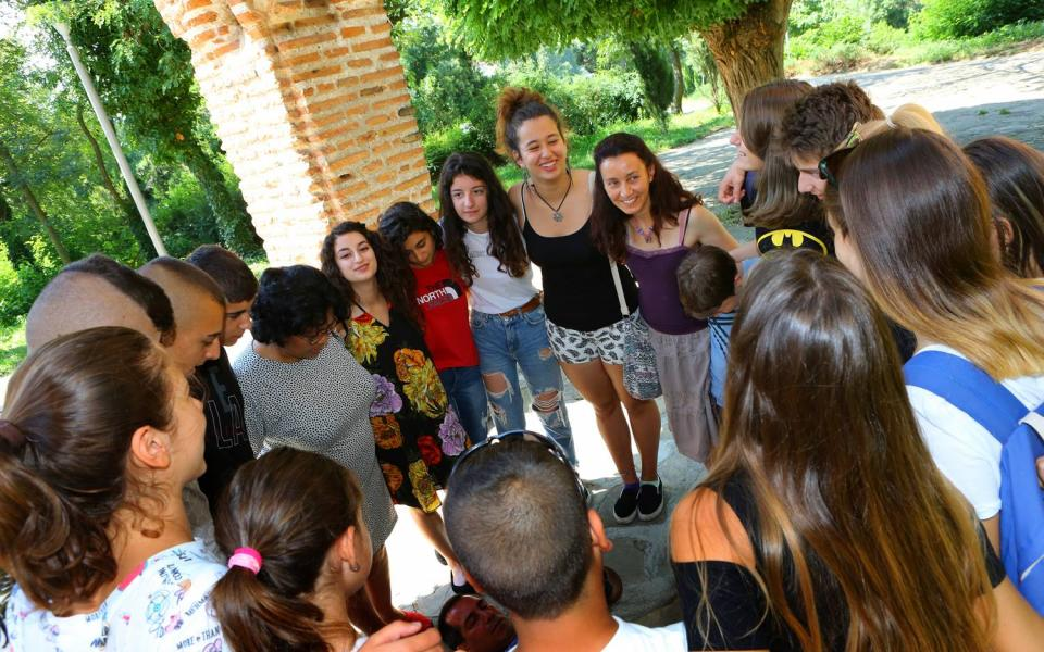 Interfaith Youth Build Bridges of Peace in Summer Camp