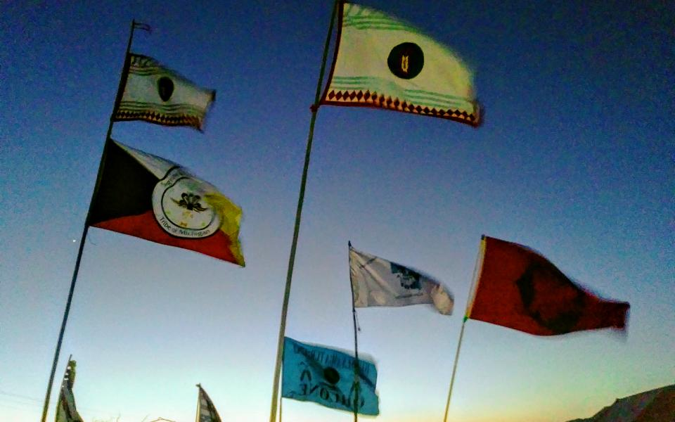 various indigenous people's flags