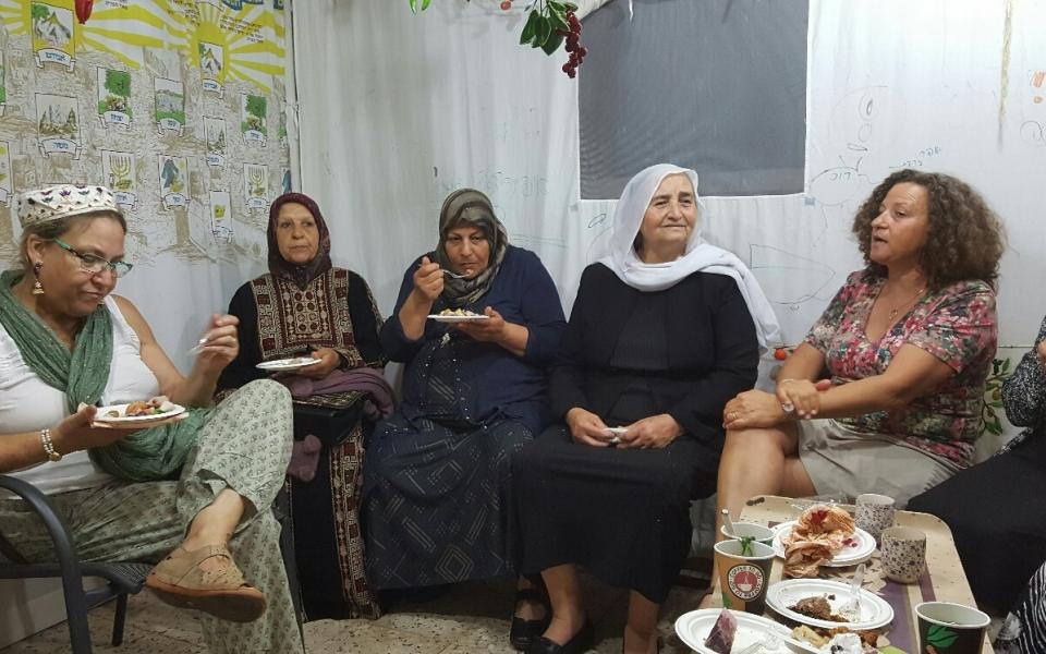 The Weekly Shot: Interfaith Sukkot in Israel