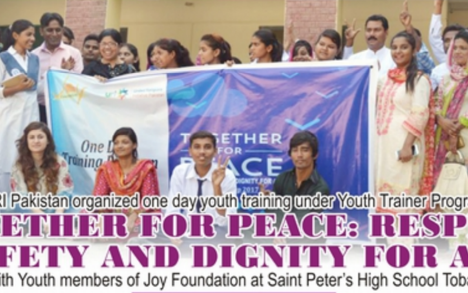 Umang - Joy Foundation works with high schoolers