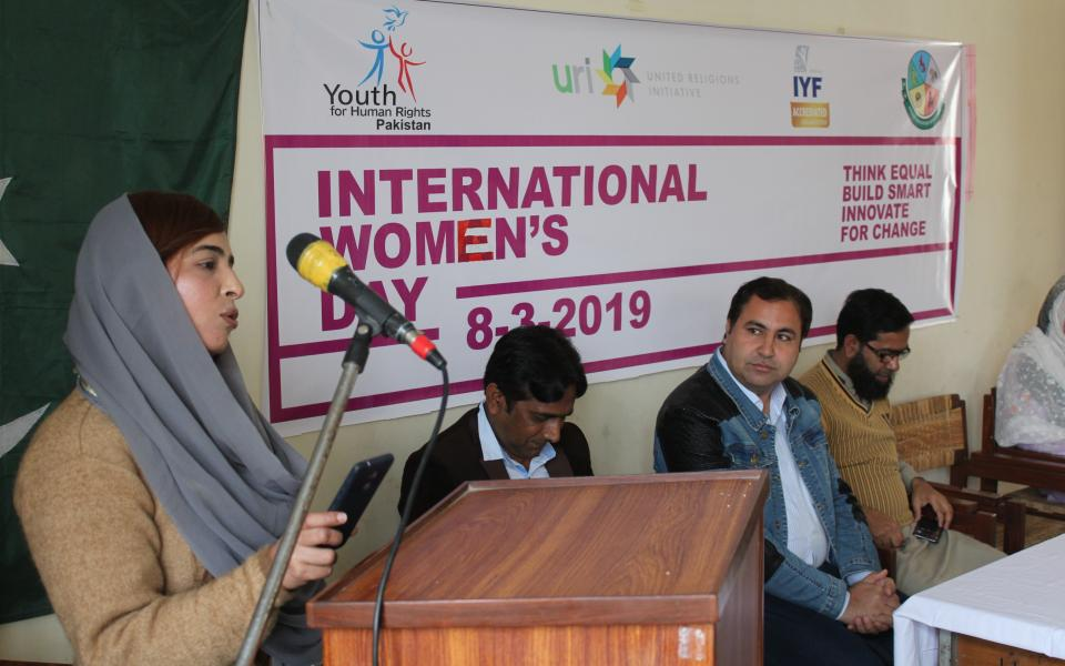 Celebrating Women's Day in Pakistan