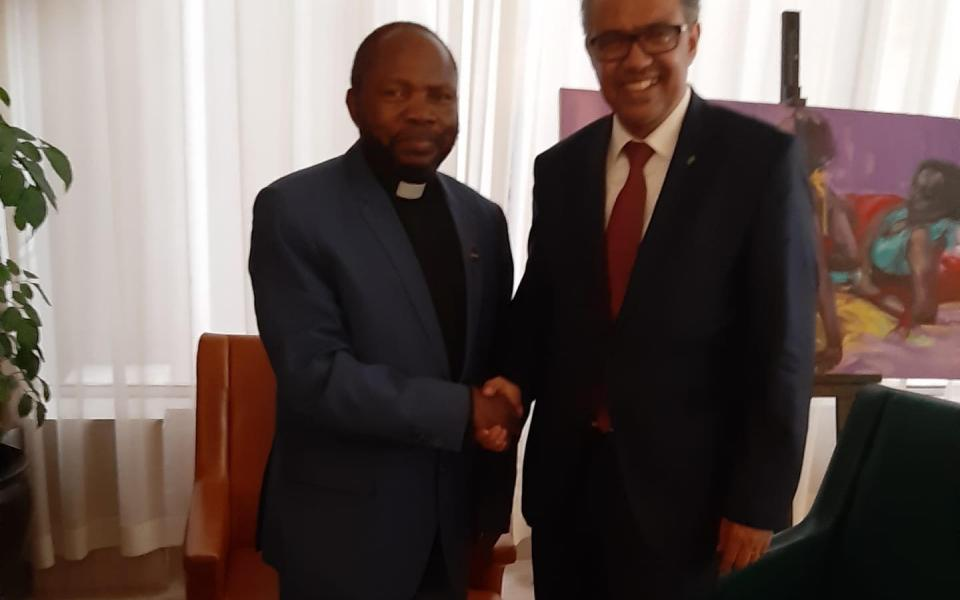 Zero Ebola Epidemic in North-Kivu and Ituri: The World Health Organization Seeks Reverend Dr. Ambassador Milenge's Expertise