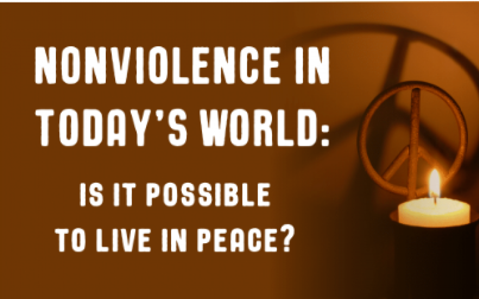 nonviolence lectures