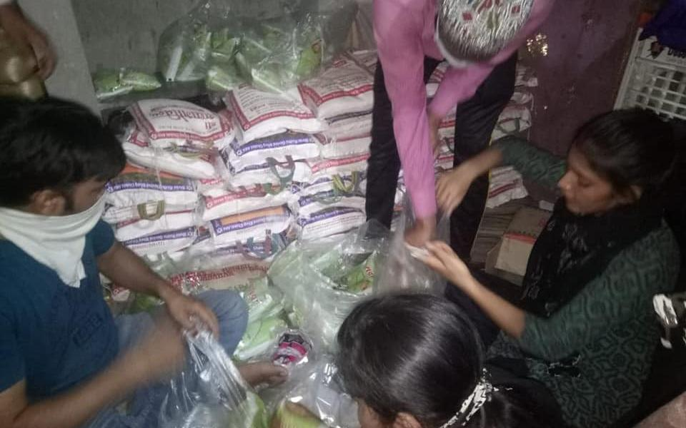 Angel Peace Foundation Distributing Rations During Pandemic