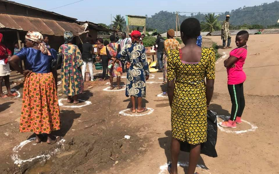Social Distancing and Hand Washing Help Effective Quarantine in Cameroon