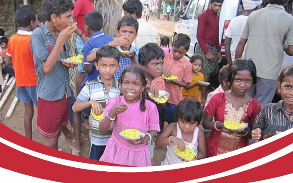 Food for Needy Children in India