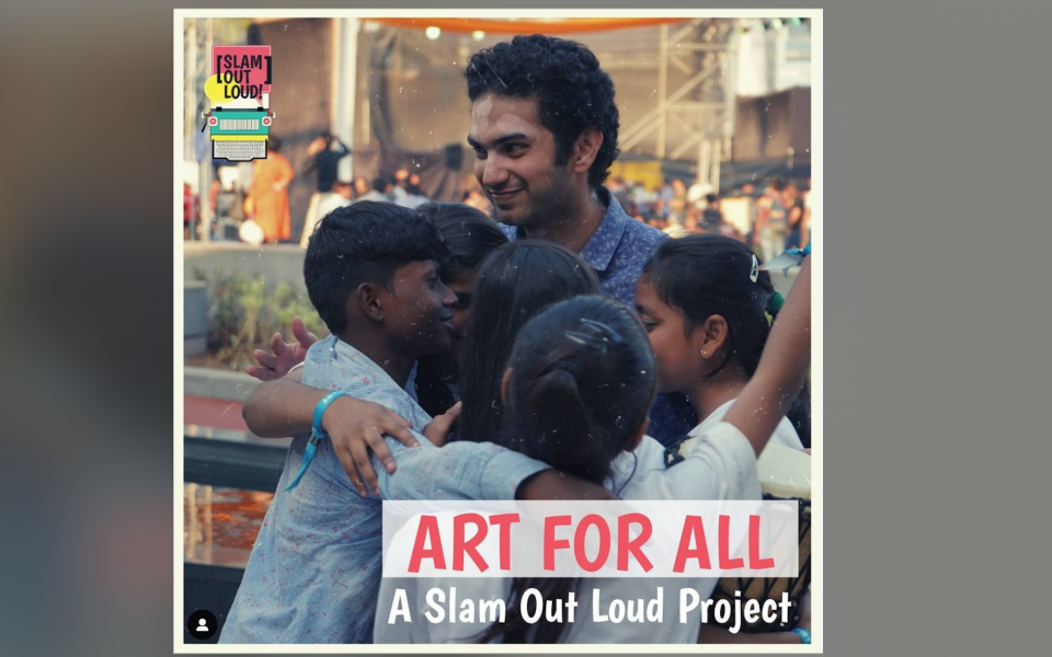 "Slam Out Loud Launches ""Art For All"""