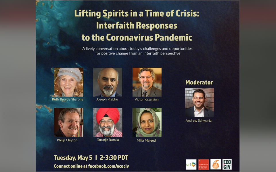Lifting Spirits in Challenging Times: Interfaith Responses to the Coronavirus Crisis